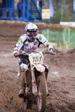 motocross för 151 kumanov Arkivbild
