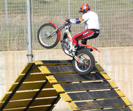 Motocross freestyle Royalty Free Stock Photography