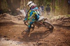 Motocross i Thailand Royaltyfri Bild