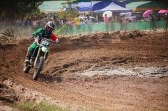 Motocross i Thailand Fotografering för Bildbyråer