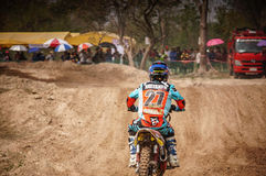 Motocross i Thailand Royaltyfria Bilder