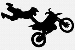 Motocross Illustration Stock Image