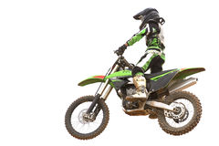 Motocross Isolated Stock Photography