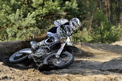 Motocross jeździec Obraz Royalty Free