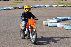 Motocross jest młodym atletą 4 roku Fotografia Royalty Free