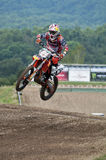 Motocross jump Royalty Free Stock Images