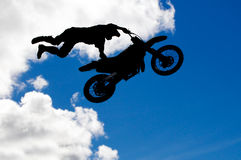 Motocross jump Royalty Free Stock Image