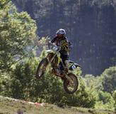 Motocross-jump,B.Bulenski Stock Image