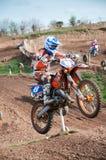 Motocross Jump Royalty Free Stock Photos