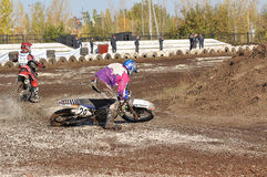 Motocross Junior Championships Royalty Free Stock Photography
