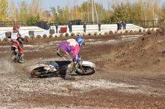 Motocross Junior Championships Stock Photography