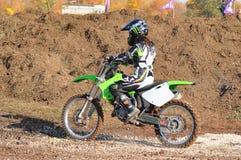 Motocross Junior Championships Royalty Free Stock Image