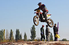 Motocross Junior Championships Stock Photo