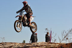 Motocross Junior Championships Royalty Free Stock Photos