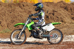 Motocross Junior Championships Stock Photography