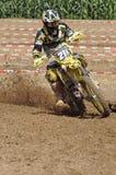 Motocross kierowca Fotografia Stock