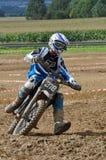 Motocross kierowca Obrazy Royalty Free
