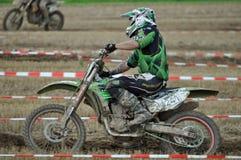 Motocross kierowca Zdjęcia Royalty Free