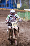 MOTOCROSS, KUMANOV-151. Photographie stock