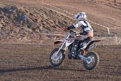 motocross La course des enfants photo libre de droits