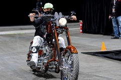 Motocross libero di stile del milot del Ben Fotografia Stock