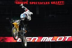 Motocross livre do estilo do milot de Ben Fotografia de Stock Royalty Free
