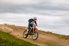 Motocross-Meisterschaft Stockbilder