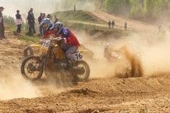 Motocross Meisterschaft 14. bis 15. Mai 2016 Stockfoto