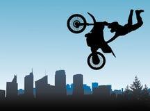 Motocross and men Stock Photo