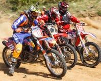 Motocross mistrzostwo 14-15 2016 Maj zdjęcia stock