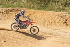 Motocross mistrzostwo 14-15 2016 Maj fotografia stock