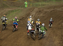 Motocross MX3 Royalty Free Stock Photography