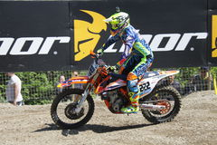 Motocross MXGP Trentino Cairoli 2015 #222 Photo libre de droits