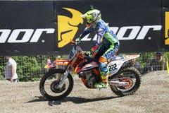 Motocross MXGP Trentino 2015 Cairoli #222 Royalty-vrije Stock Foto