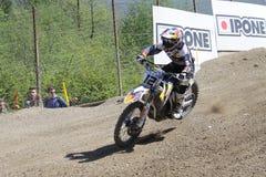 Motocross MXGP Trentino 2015 ITALIË Max Nagl #12 Royalty-vrije Stock Afbeeldingen