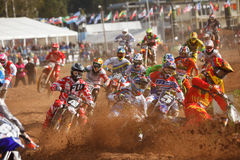 Motocross of Nations 2014 Royalty Free Stock Images