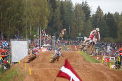 Motocross of Nations 2014 Stock Image