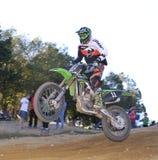 Motocross in Nava, Asturias, Spain. Royalty Free Stock Photos