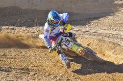 Motocross in Nava, Asturias, Spain. Stock Photos