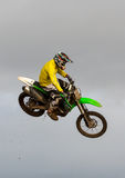 Motocross practise participant in Tain MX, Scotland. Stock Image