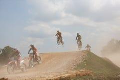 Motocross. PUTRAJAYA, MALAYSIA - May 24: Malaysia motocross series 2016 ,2nd round on May 24, 2016 in Putrajaya, Malaysia, Unknown rider stock images