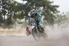 Motocross. PUTRAJAYA, MALAYSIA - May 24: Malaysia motocross series 2016 ,2nd round on May 24, 2016 in Putrajaya, Malaysia, Unknown rider stock photography