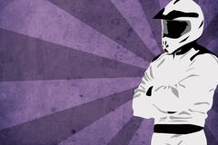 Motocross or quad background Stock Photo