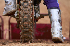 Motocross race Royalty Free Stock Photography