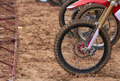 Motocross race Royalty Free Stock Photos