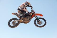 Motocross race Stock Photos