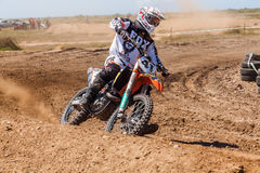 Motocross race Royalty Free Stock Photos