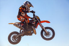 Motocross race Stock Images