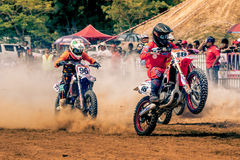 MOTOCROSS RACE EVENT Royalty Free Stock Images