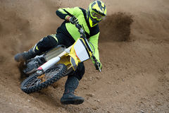Motocross race Stock Photography